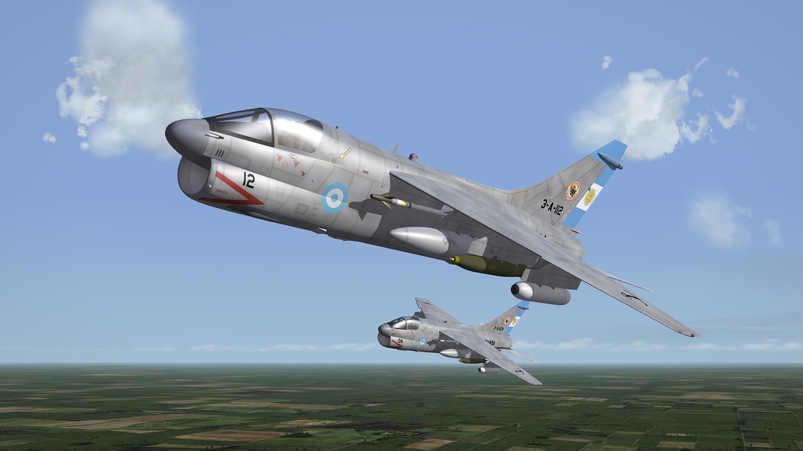 [Fictional] Vought A-7R Corsair II - Argentine Navy