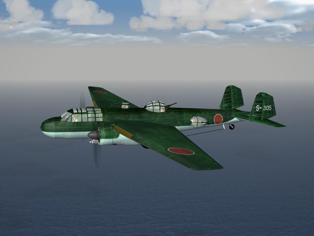 SF2 WW2 PTO Mitsubishi G3M Nell Pak
