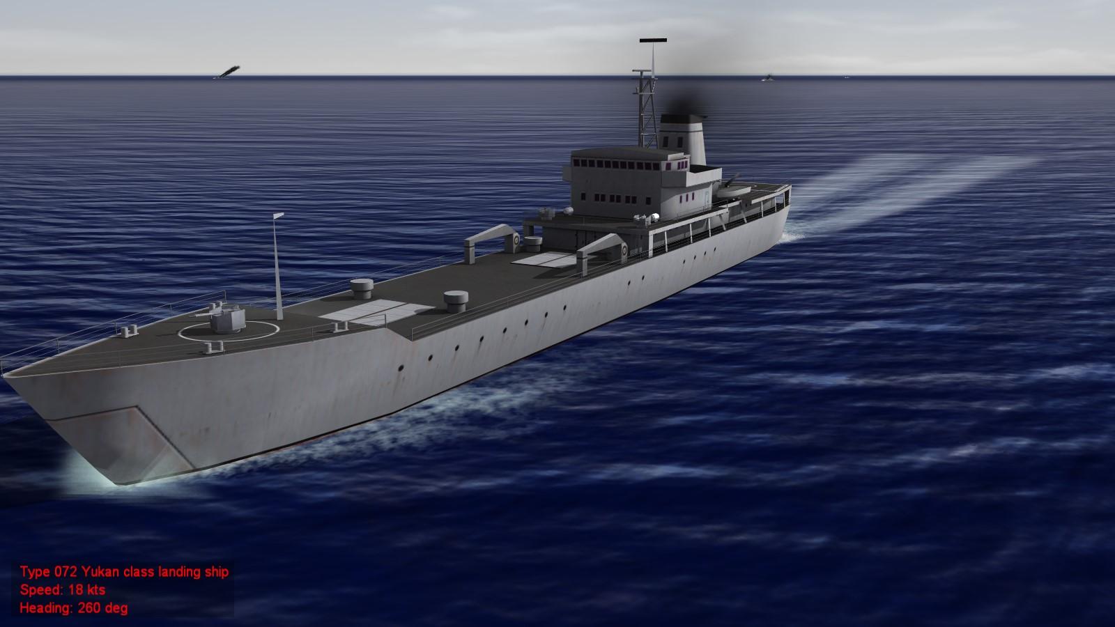 Yukan and Yuting class landing ships