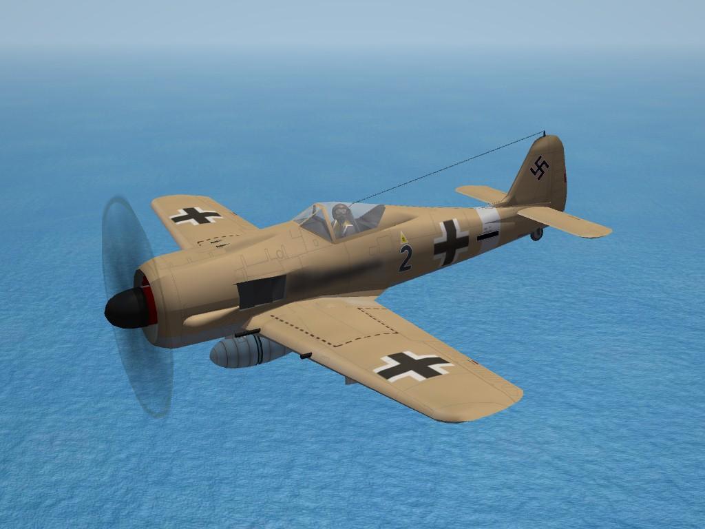 SF2 WW2 Focke Wulf FW-190A4, JG2, MTO
