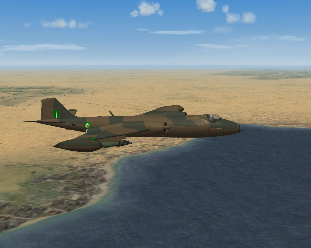 Canberra B mk2 Luftwaffe and Rhodesian AF