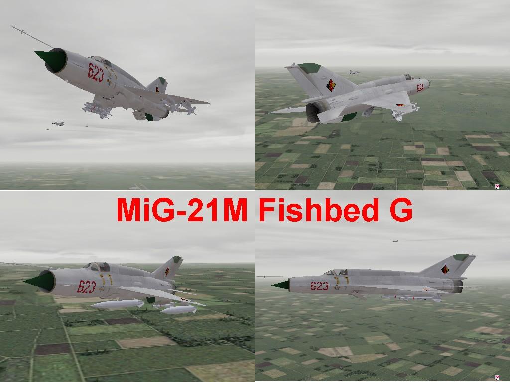 MiG-21M Fishbed-G
