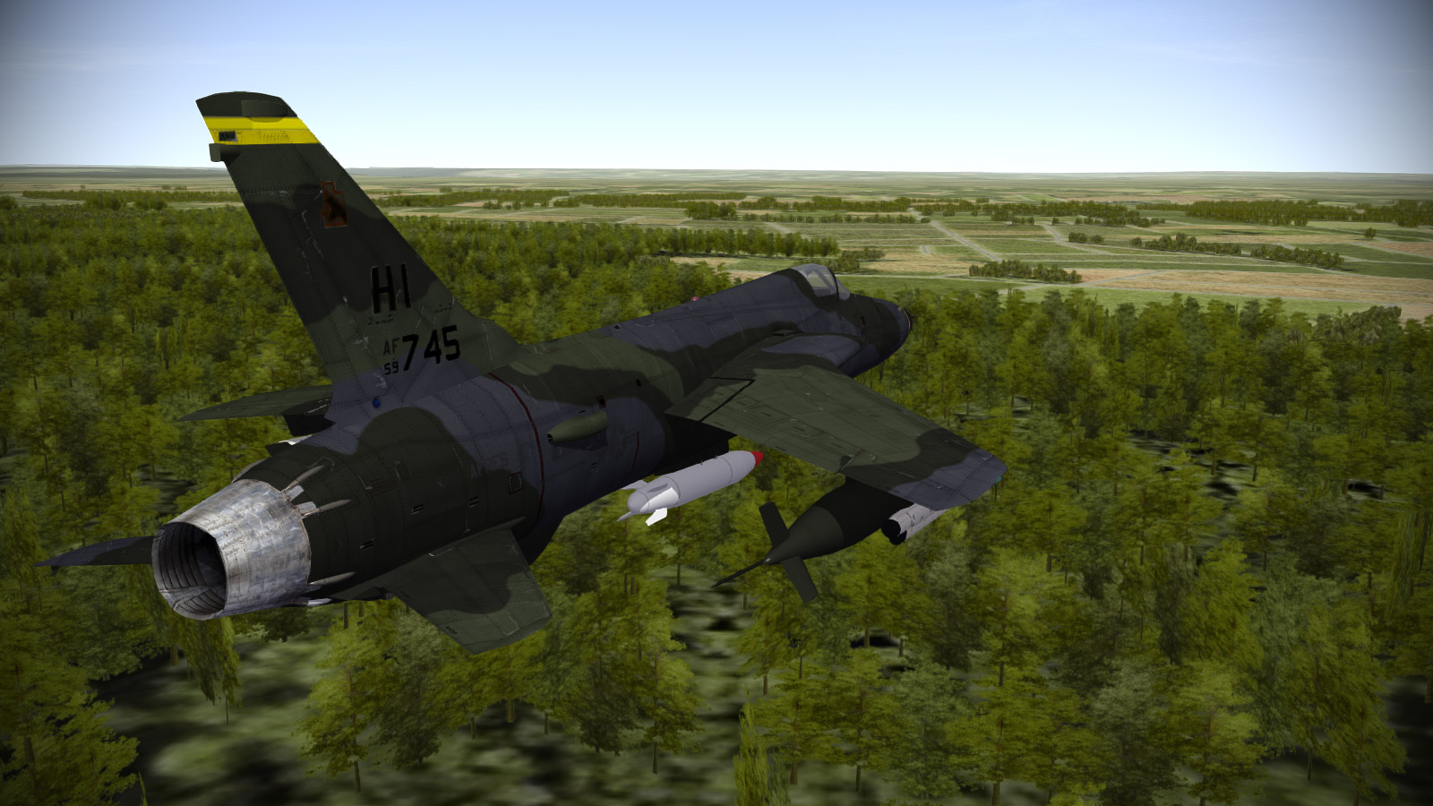 F-105D PSD Layered Templates for SF2