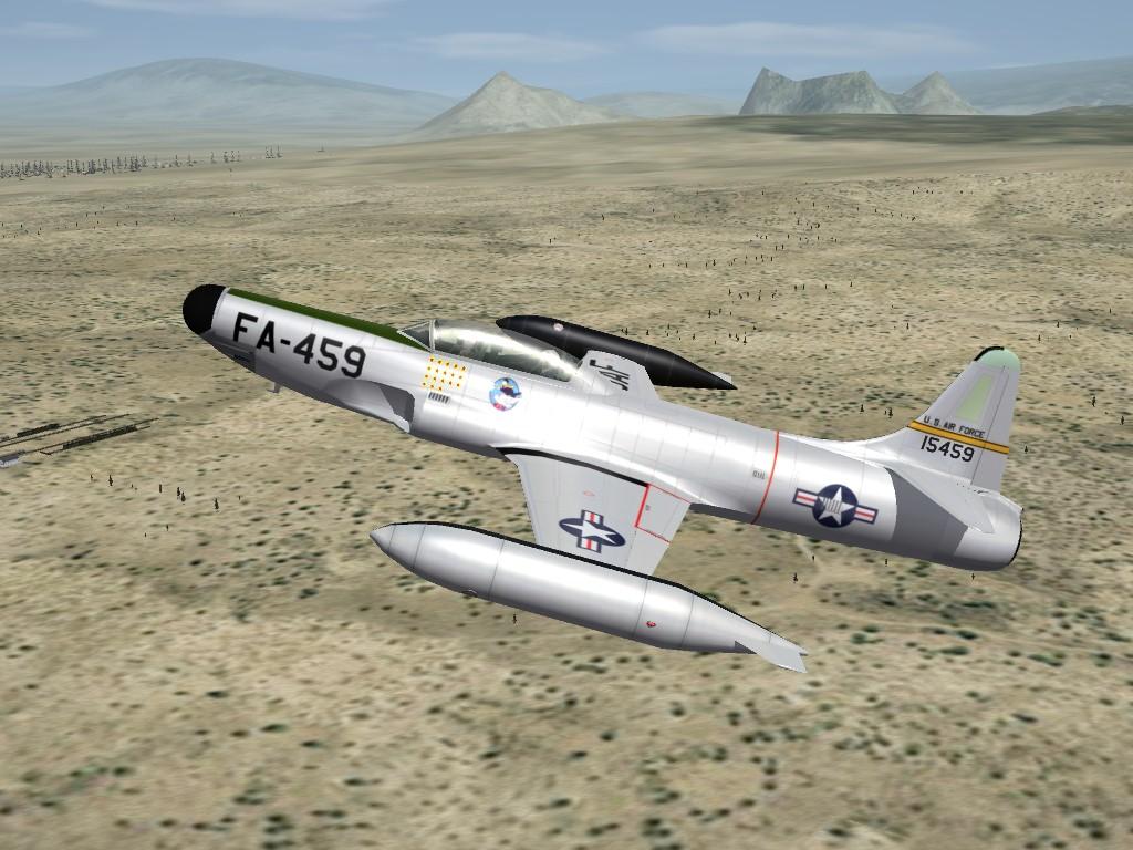 SF2 Lockheed F-94B Starfire Pak by ErikGen