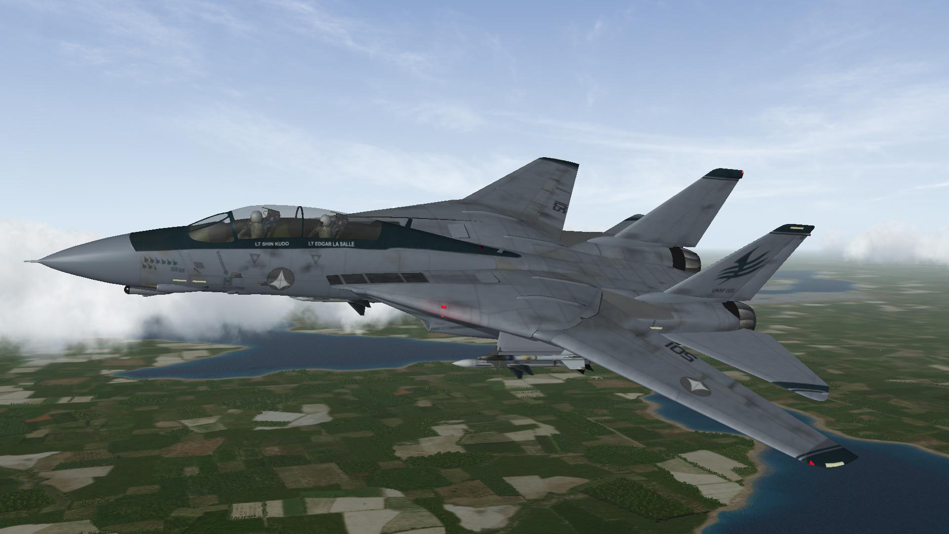 Macross Zero F-14 (Shin Kudo's ver.)