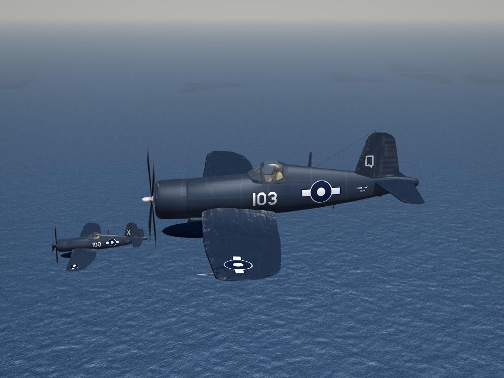 Vought Corsair MK.4, RN Fleet Air Arm, by Mod Mafia/TMF