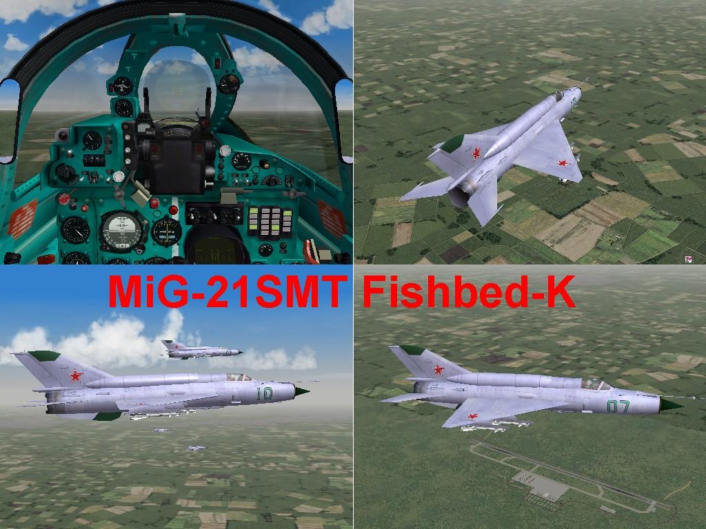 MiG-21SMT Fishbed-K