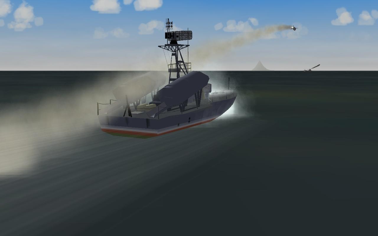 Komar class missile boat pack