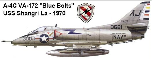 VA-172 Blue Bolts 1969/1970