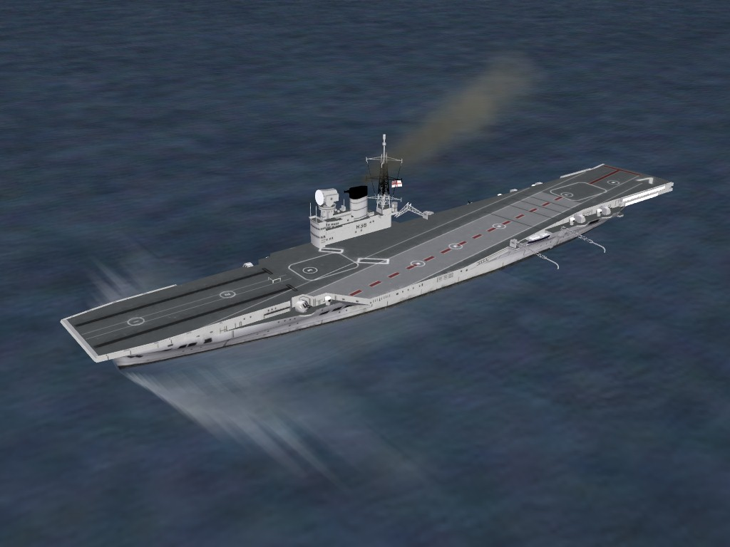 CV HMS Victorious, R38 by Hinchbrooke for SF2