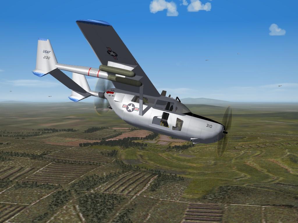 SF2 Cessna O-2A Skymaster by Veltro2K