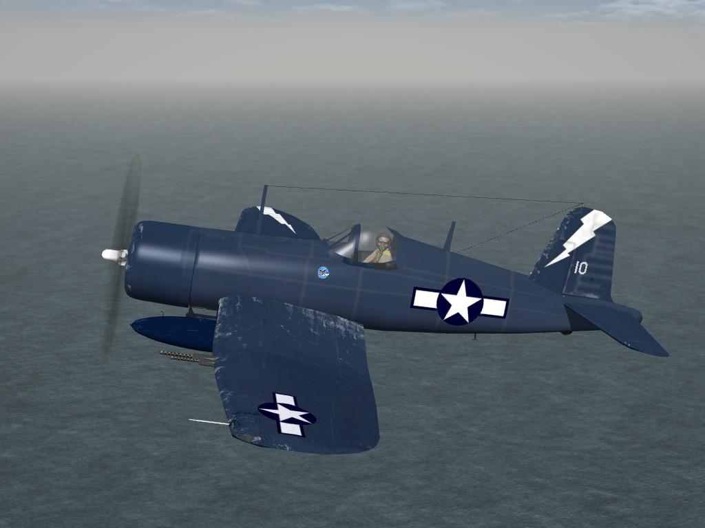 SF2 WW2 F4U-1C Corsair by Mod Mafia/TMF