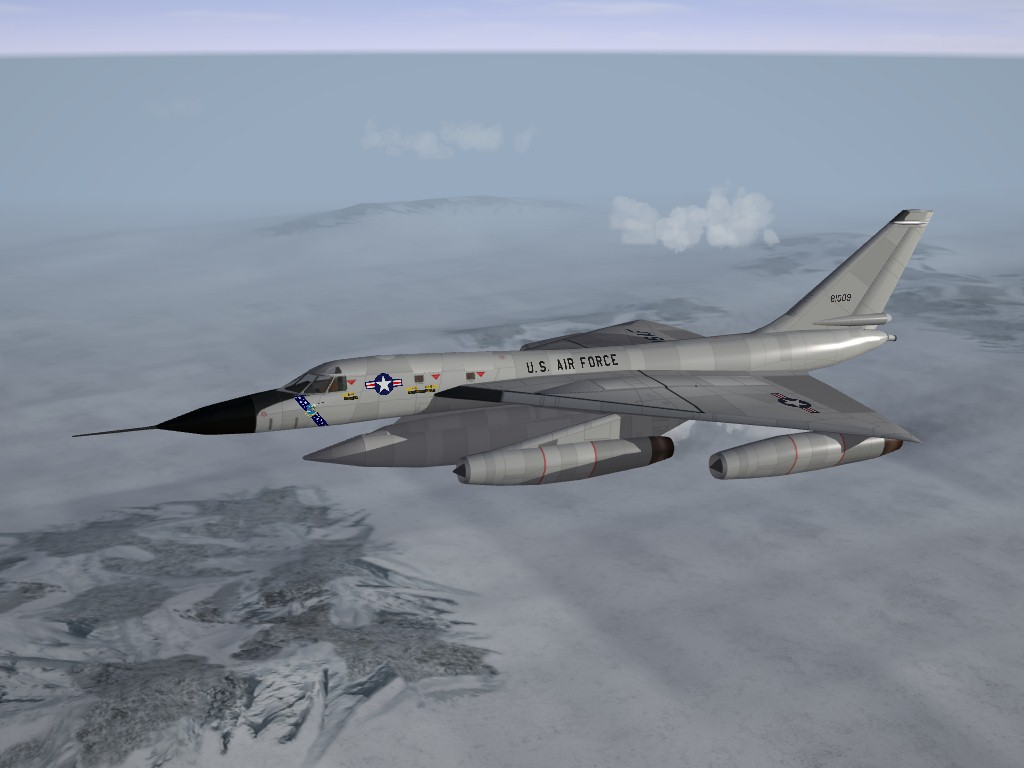B-58A Huster for SF Upgrade/Update Pak