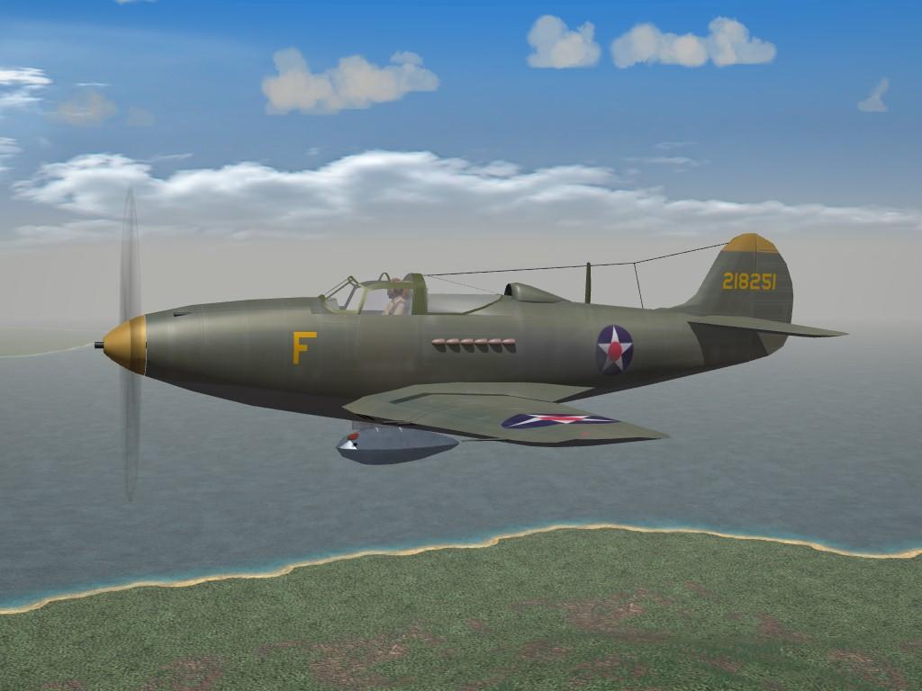 SF2 WW2 PTO P-39/P400 Airacobra Pak