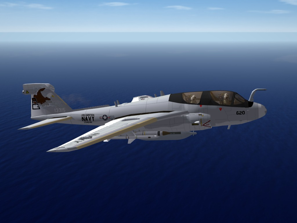 Hawker's EA-6B Prowler Upgrade/Update Pak for SF2
