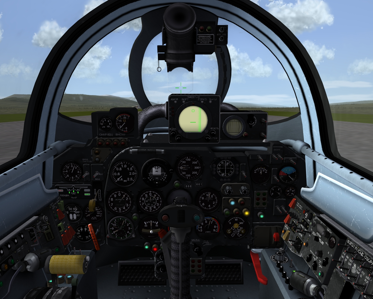 Su-9 Fishpot-B cockpit (for TW DLC model)