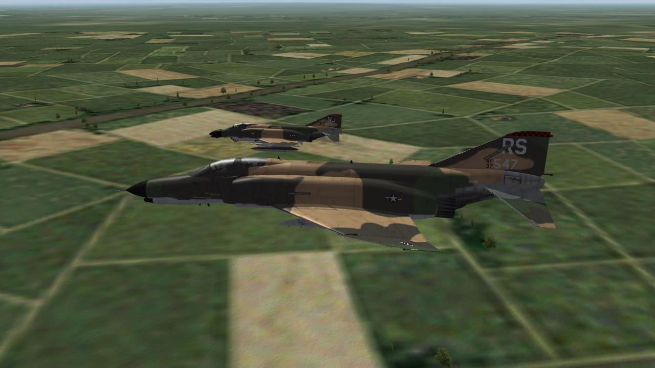 DLC21 USAF F-4 Skinpack Decalpack and Ini tweeks