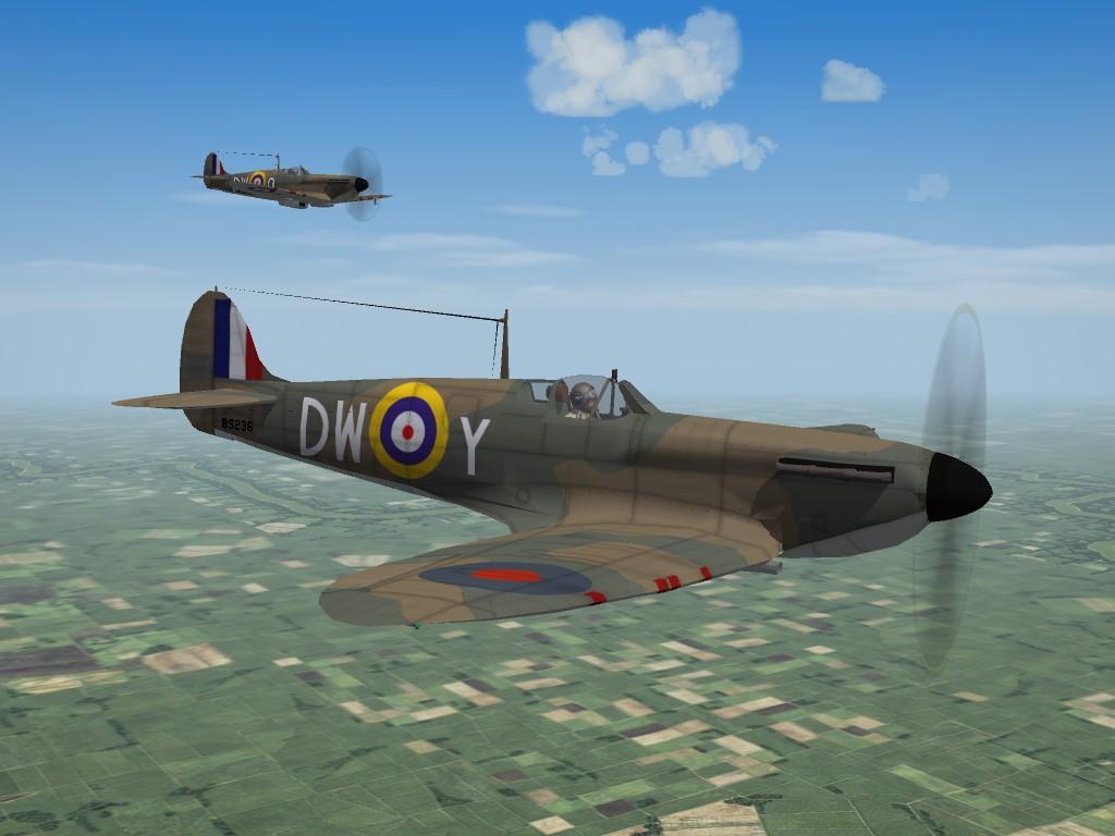 SF2 WW2 Spitfire Mk.1A by Mod Mafia/TMF