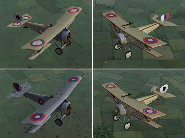 Eastern Front - skins for 2 of Monty CZ's planes