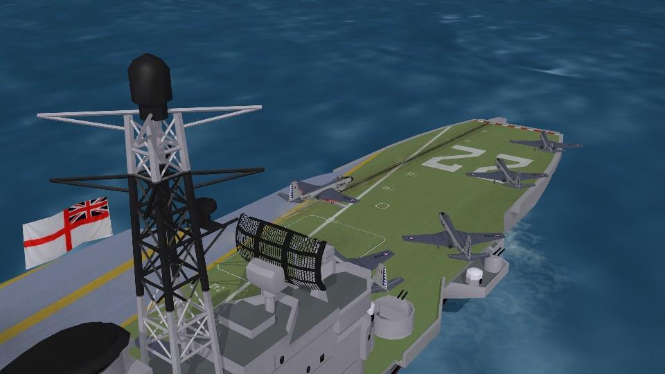 HMCS Bonaventure (CVL22) with Hi Res deck