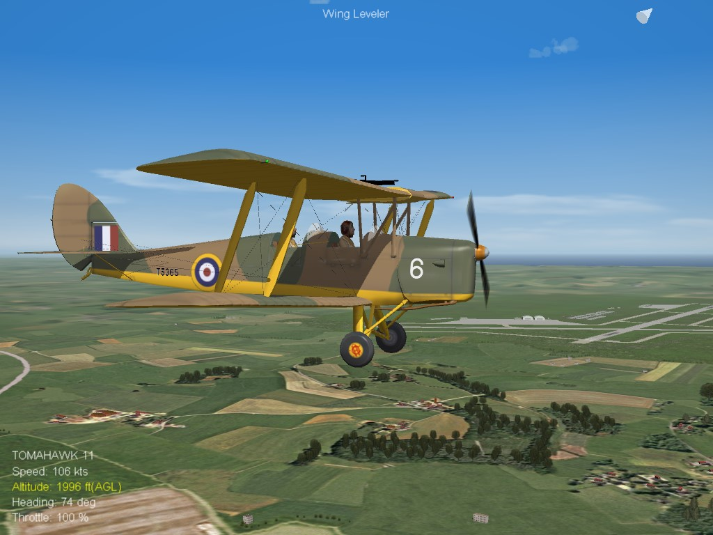 SF2 WW2 DH TigerMoth by RussoUK