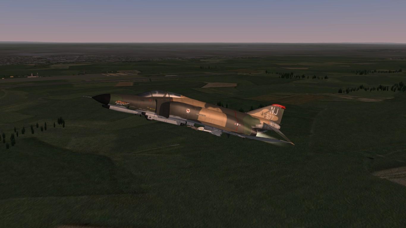 Stock F-4 Phantom 2 USAFCamo1 Decalpack, and Ini Tweek
