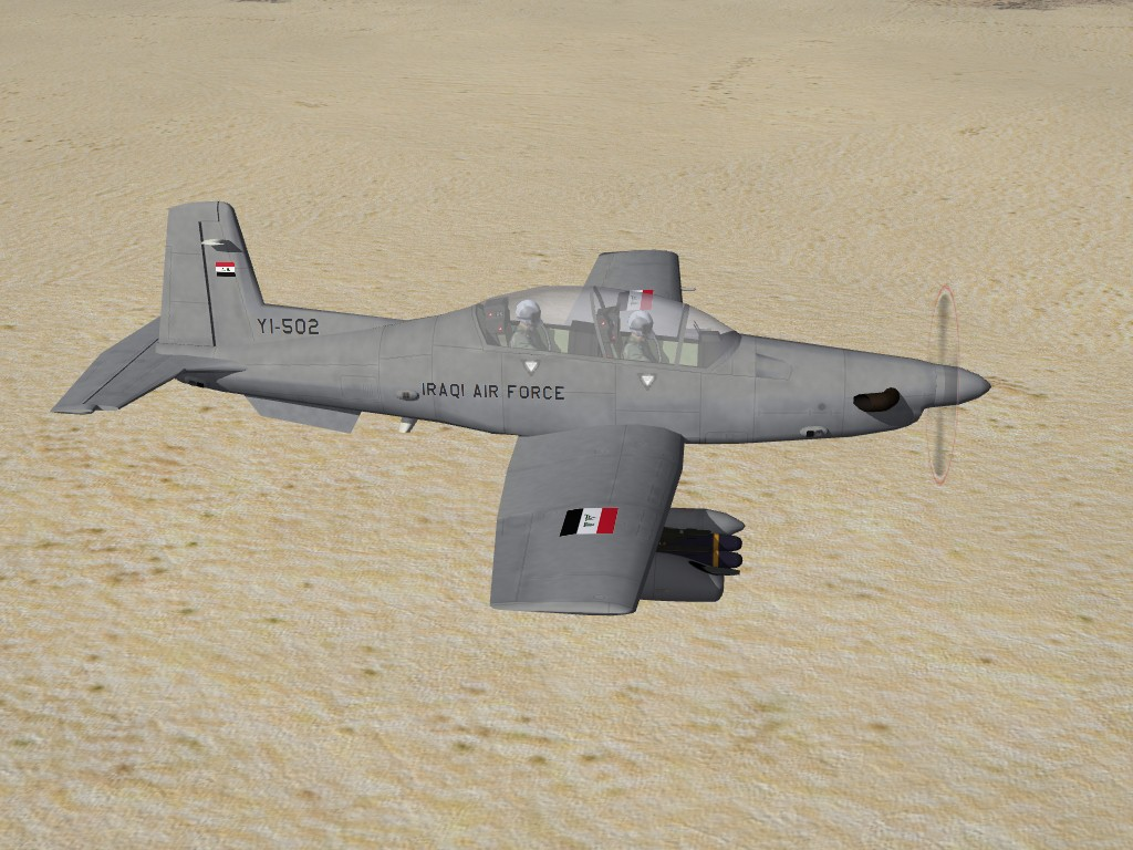 AT-6B Texan COIN, Iraqi AF  (Skin & Ini Tweeks)