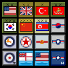Counters & screens for SF2: Korean Air War