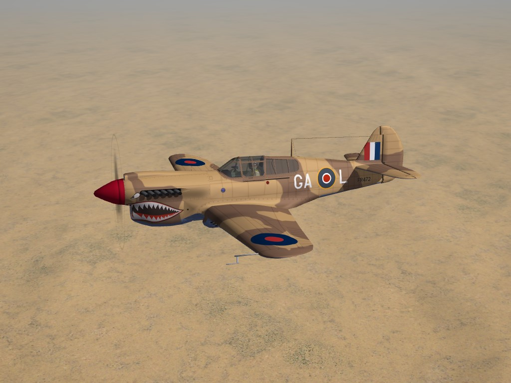 SF2 WW2 MTO Kittyhawk IA, 112 Squadron