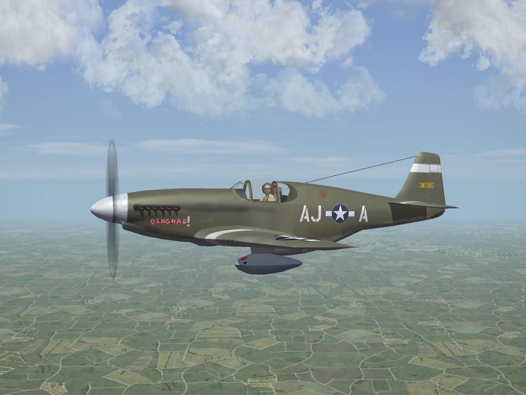 P-51C Mustang, ETO