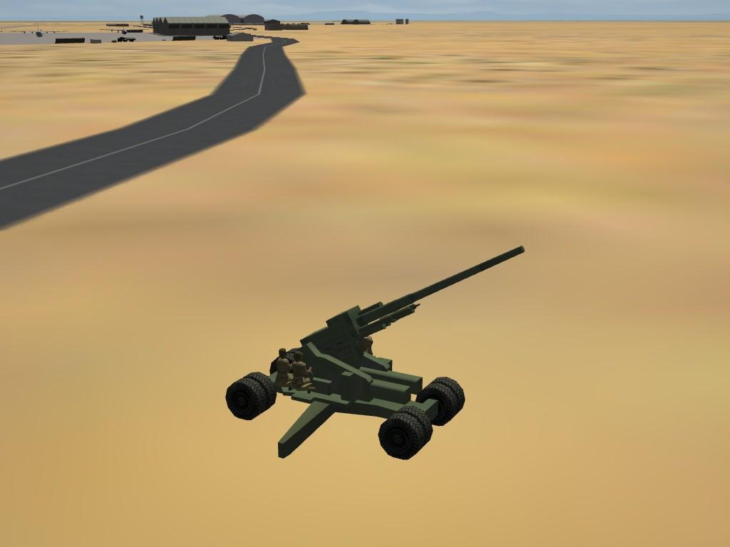 US M-1 120mm AAA Gun