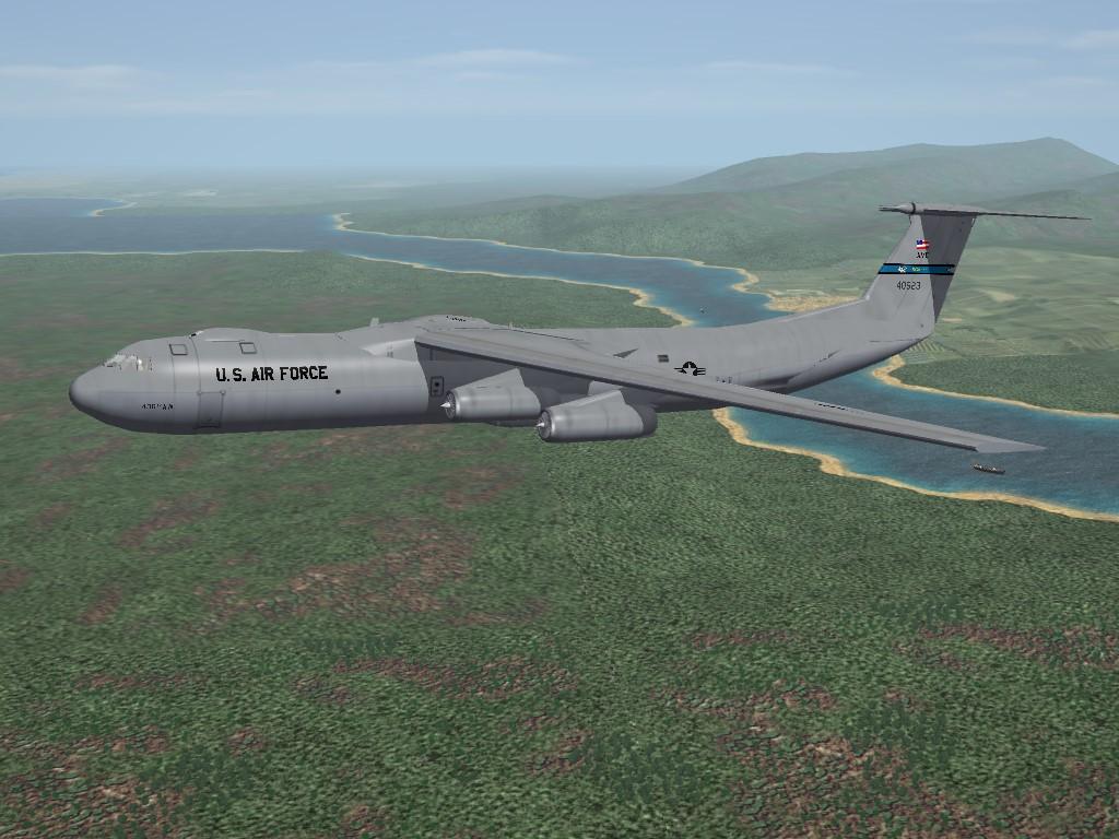C-141B Starlifter Replacement/Tweeks Pak