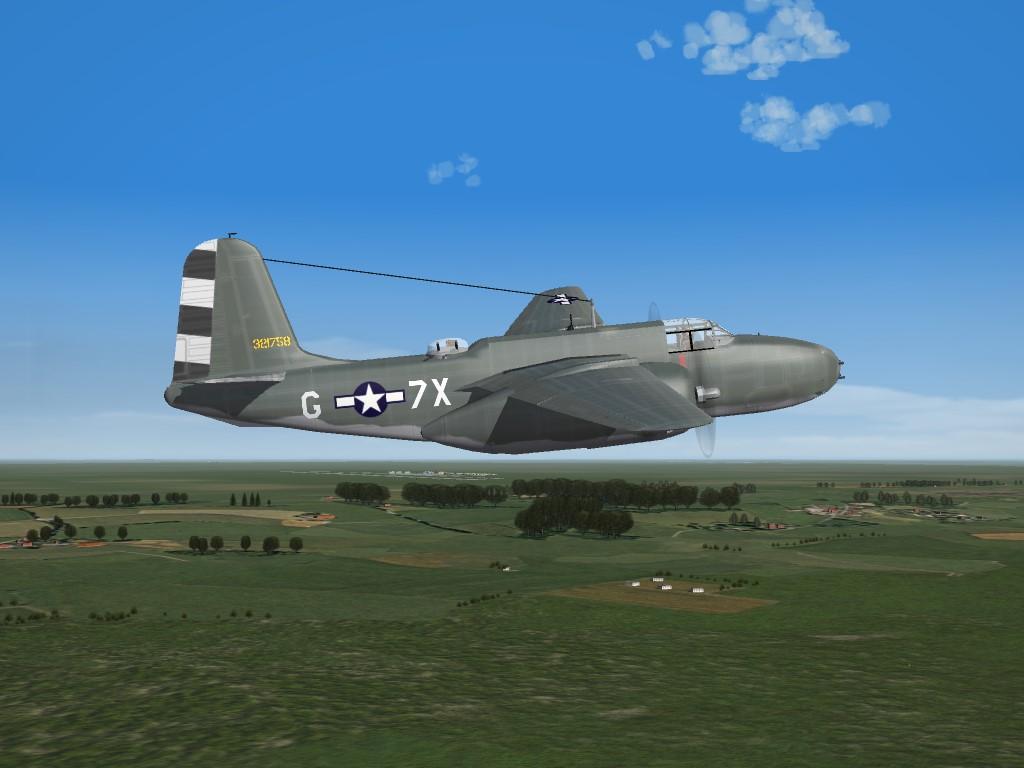 SF2 WW2 ETO A-20G Pak (DAT)