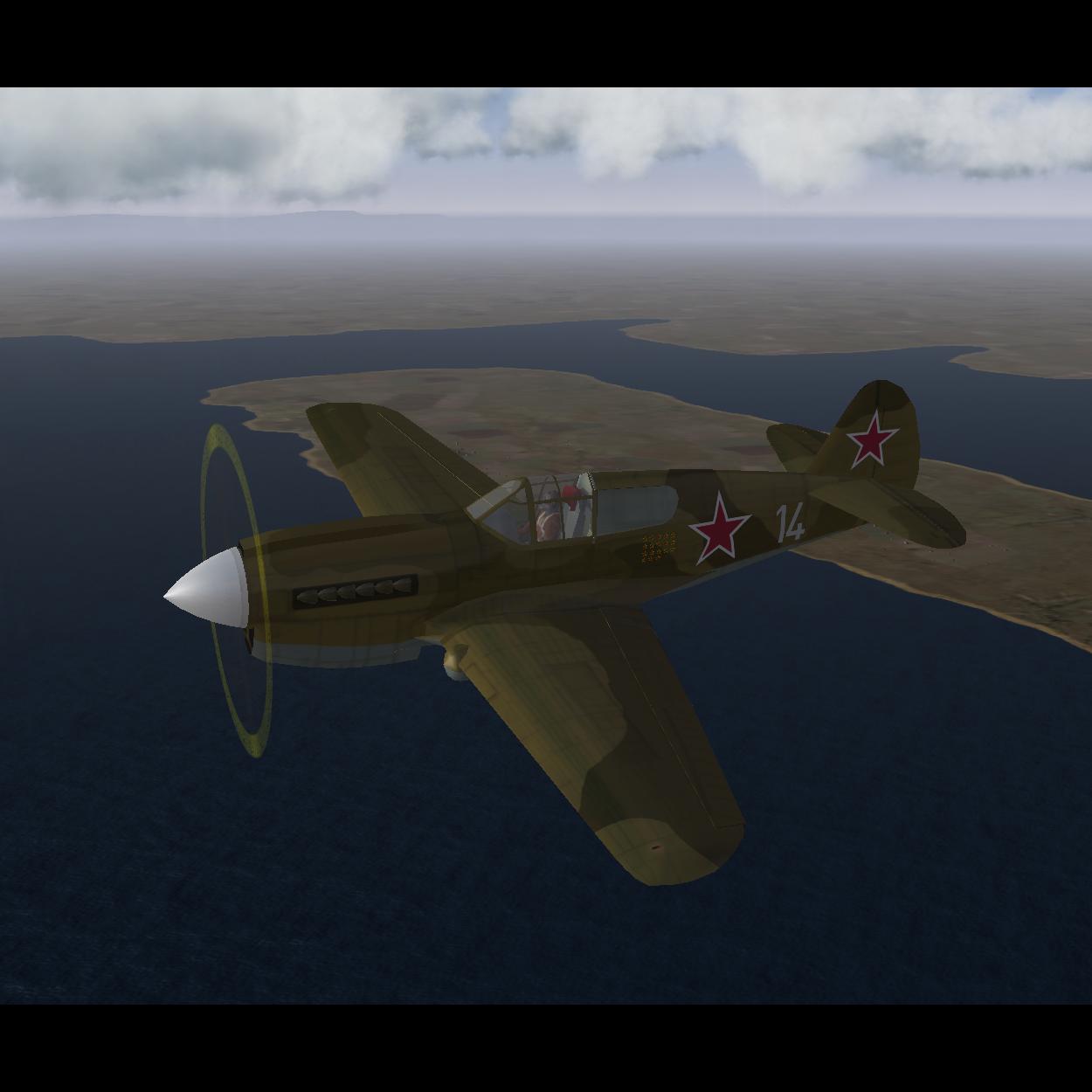 P-40E Soviet skins Pack