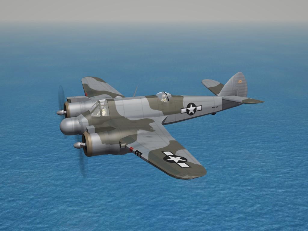 SF2 WW2 MTO Bristol Beaufighter Mk.VIF (NF) USAAF (DAT)