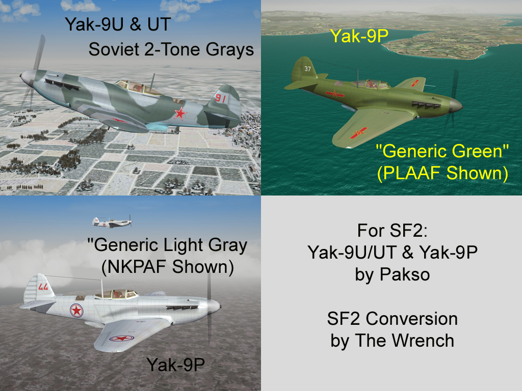 Yak-9 Pak for SF2 (by Pasko)