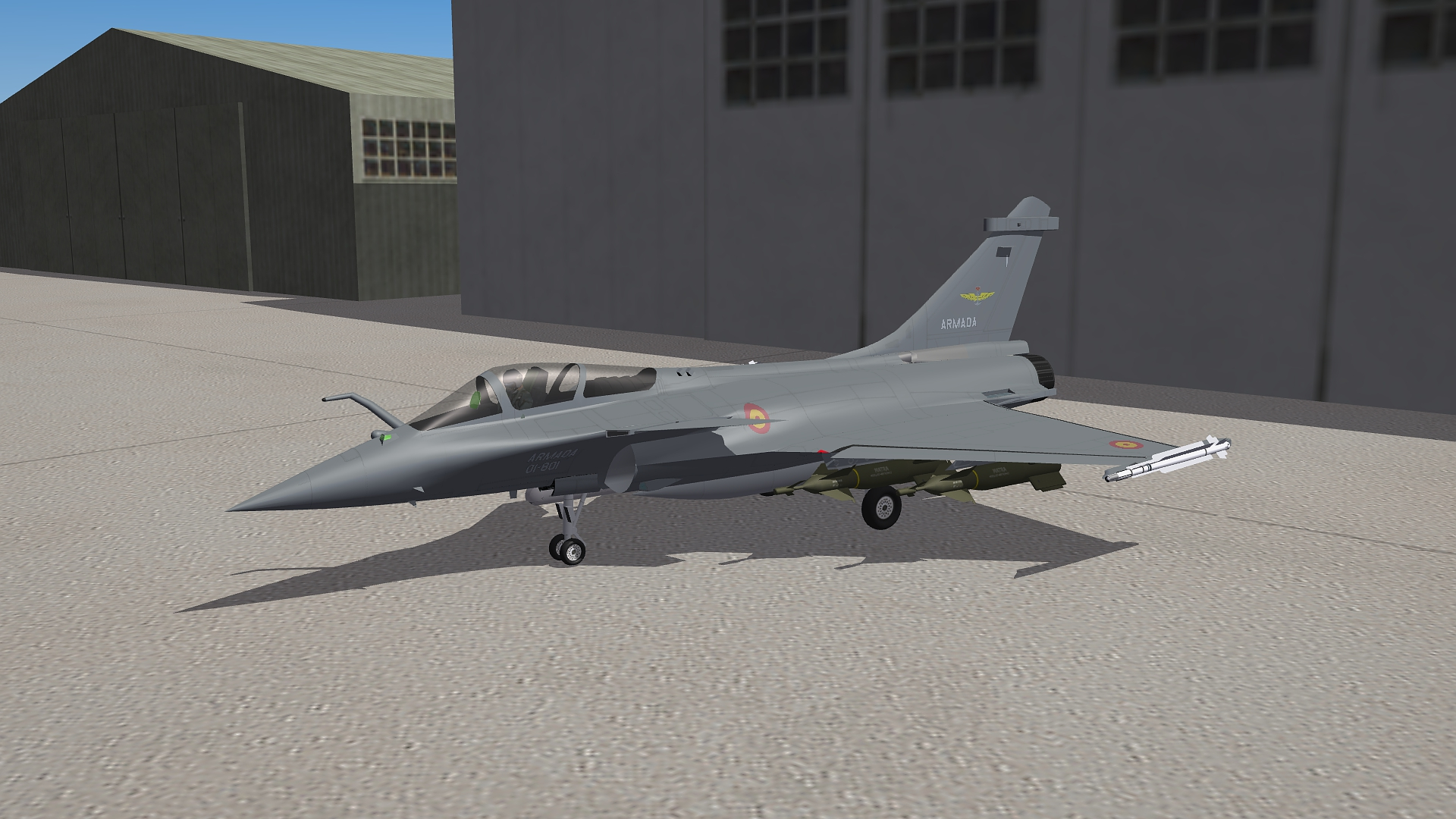 [Fictional] Dassault Rafale E for STRIKE FIGHTERS 2