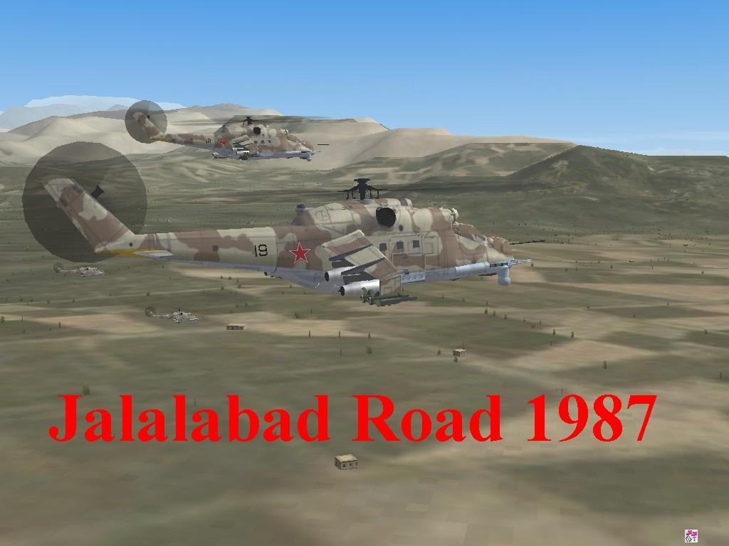 Afghanistan Jalalabad Road1987