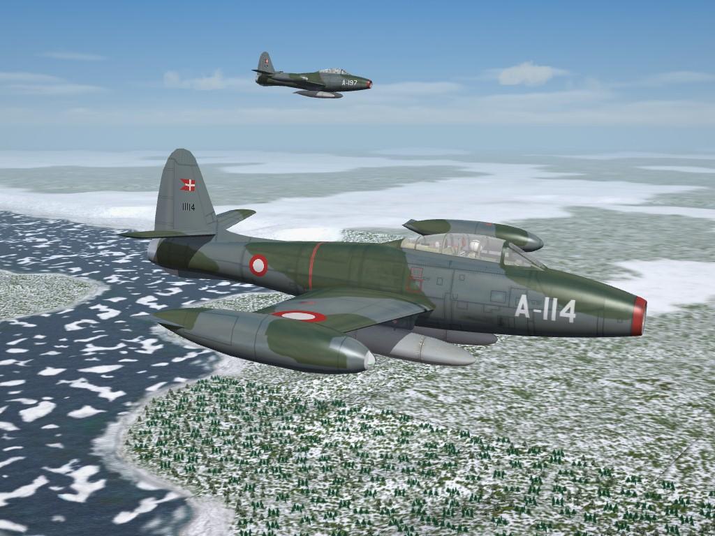 RDAF Camo, F-84G Thunderjet