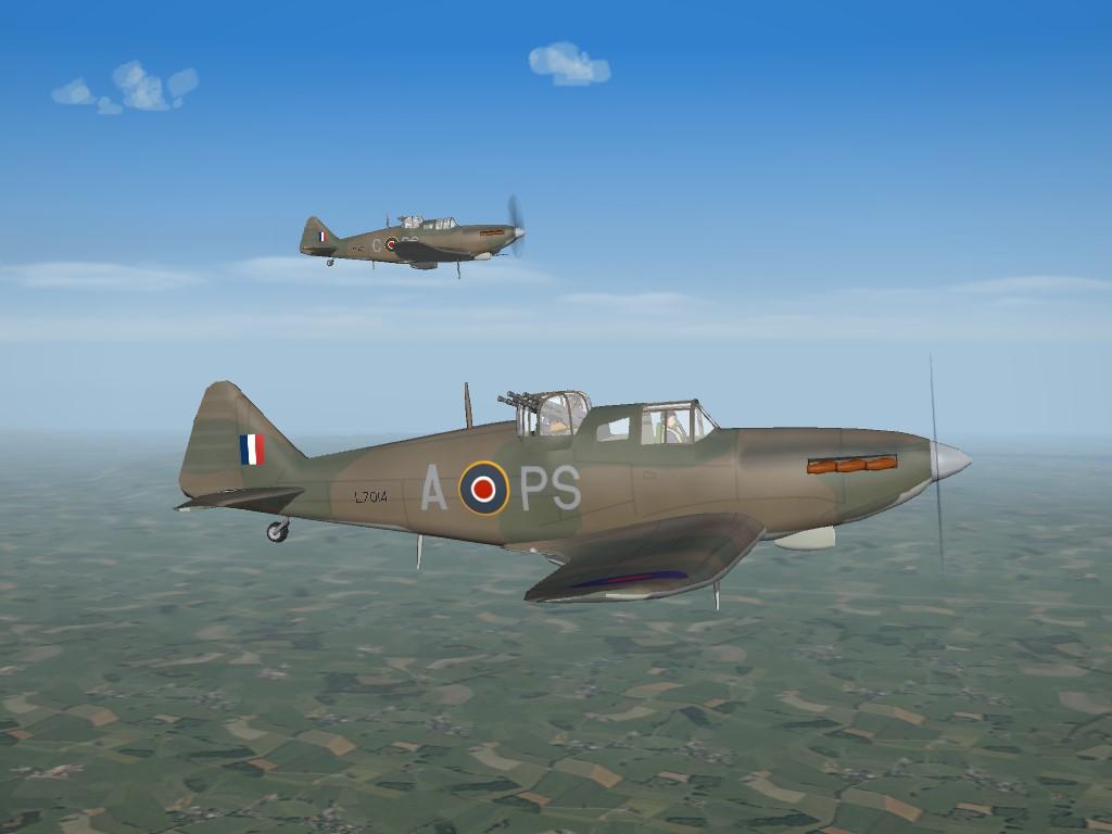 SF2 WW2 ETO Boulton Paul Defiant Remod Pak