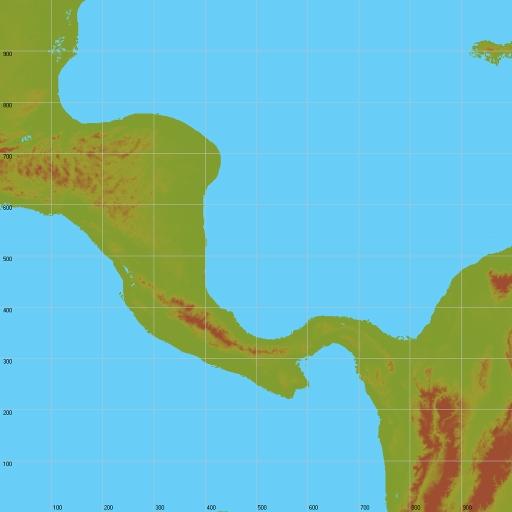 Central America Terrain for SF2