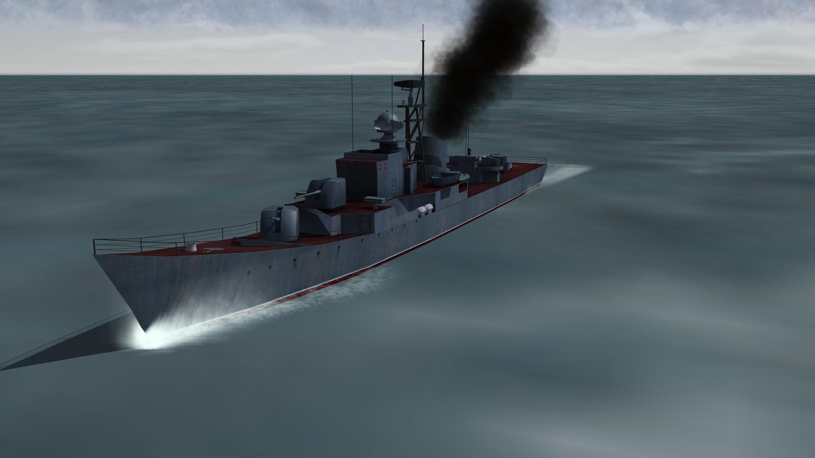 Riga class frigate