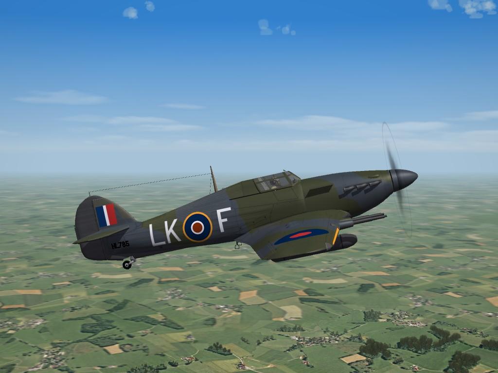 SF2 WW2 Hawker Hurricane IIC (ETO), by Raven