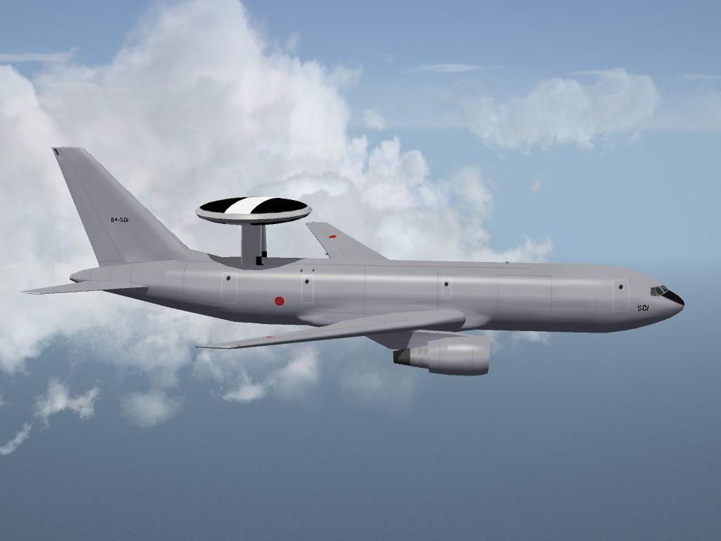 SF2 E-767 AWAC and KC-767 Cargo/Refueler Aircraft by Veltro2K