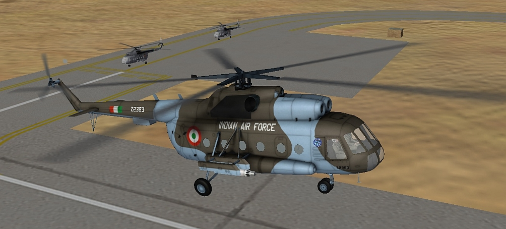 "Mil Mi-8 Hip ""Rana"" Indian Air Force mod for SF2"
