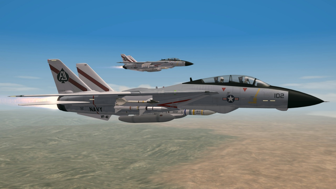 SF2 F-14 Super Pack VF-41 Black Aces Skin Pack