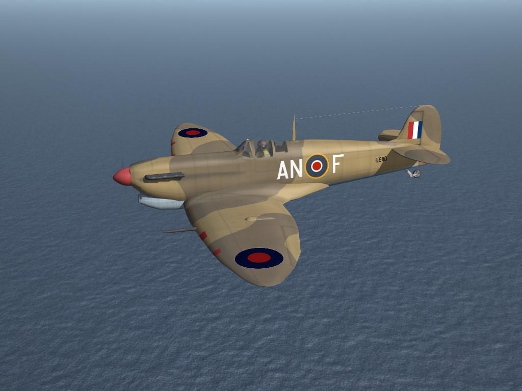 SF2 WW2 MTO Spitfire Mk.V (Trop) Pak by Cocas Aircraft Factory & Co