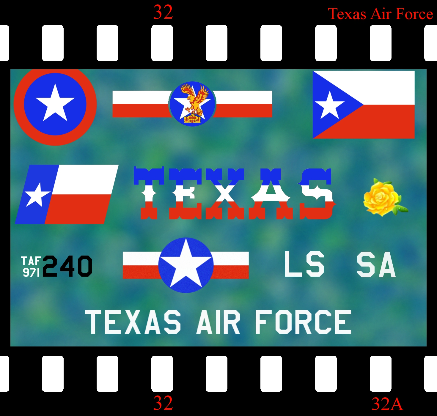 [Fictional] Texas Air Force Decals