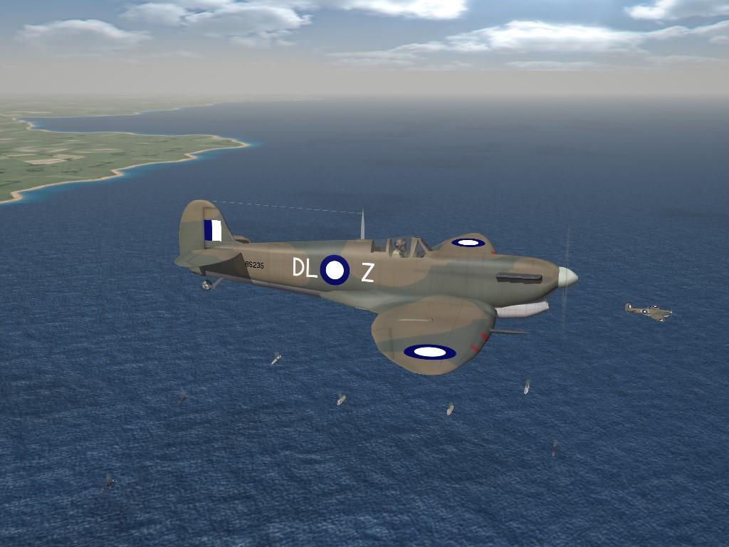 SF2 WW2 Spitfire Mk.V Trop (RAAF, SoWesPac) Pak by Cocas Aircraft Factory