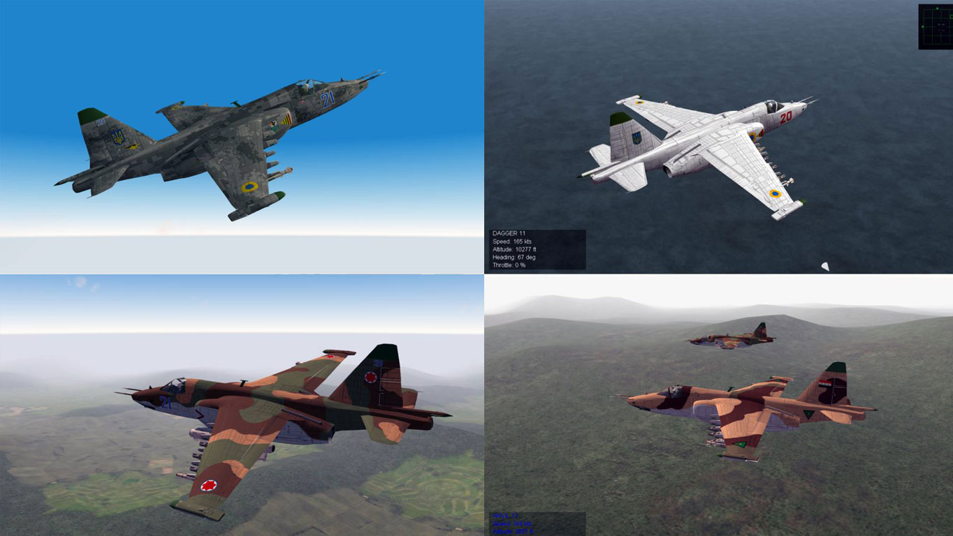 Su-25 Frogfoot A skins